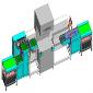 全自动PCB收放板机